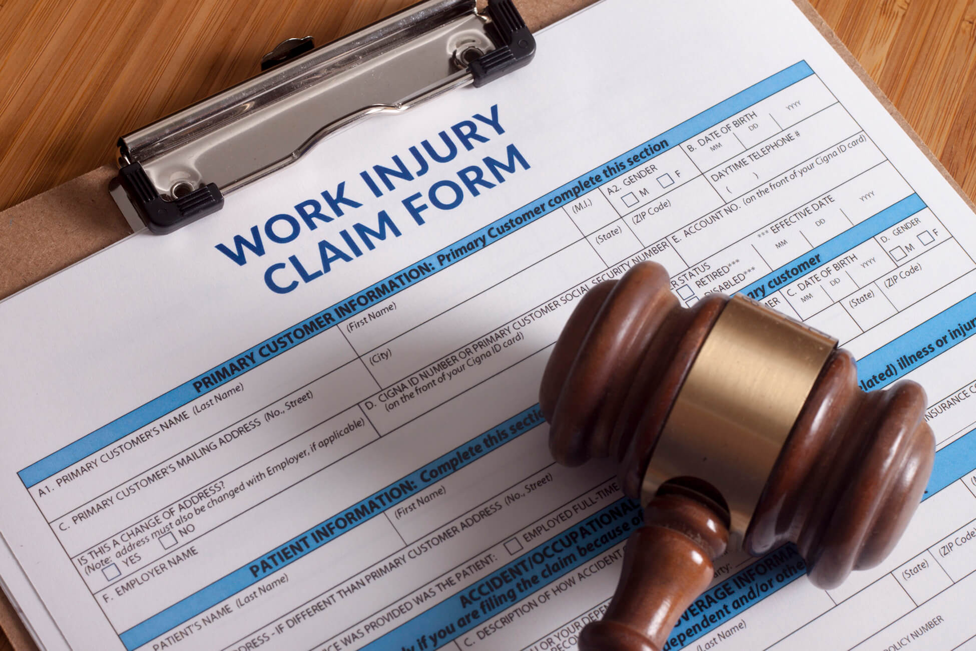 workers compensation claim
